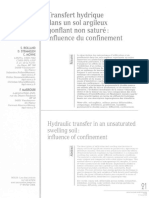 transfert hydrique