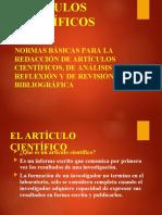 REDACCIÓN DE ARTICULOS CIENTIFICOS