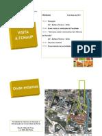 Programa da ida à FCNAUP no dia 2 de Maio