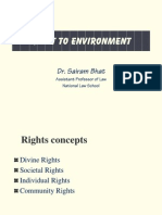 RIGHT TO ENVIRONMENT