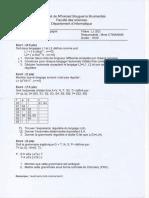 Examen Module TL univ Boumerdes Promo 2015-2016