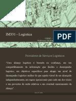 07 - IM331 - Operadores Logísticos