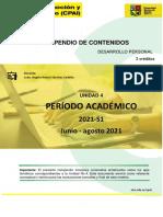 COMPENDIO UNIDAD IV - DESAROLLO PERSONAL