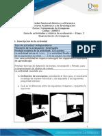 Guía de actividades y rúbrica de evaluación - Unidad 2 - Etapa 2 - Segmentación de Imágenes