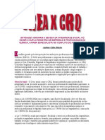 CREA x CRQ - Revista Química & Derivados