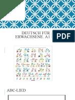 Deutsch Für Erwachsene A1