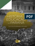 História Da Educação No Paraná