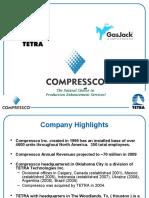 Marketing Presentation-Compressco July 09