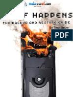 MakeUseOf.com - Stuff Happens Backup and Restore Guide
