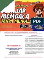 Dokumen.tips Mbaca Tanpa Mengeja Buku 2 Oleh Intan Noviana Msi