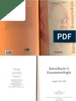 Introdução a Fenomenologia - Angela Ales Bello