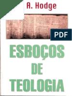 A. a. Hodge - Esboços de Teologia