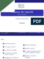 Finance de Marché _ (Pr. Firano Zakaria) _(2020-2021)_ (PDF)