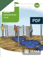 TREINAMENTO - SAÚDE E SANEAMENTO-RURAL - FOSSAS SEPTICAS - SENAR