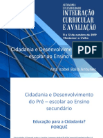 Cidadania e Desenvolvimento