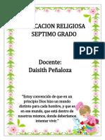 MODULO DE RELIGION GRADO SEPTIMO