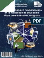 MODELO PEDAGOGICO DE EDUCACION MIXTA