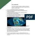 DERIVA CONTINENTAL E MOVIMENTOS PLACAS TECTONICAS