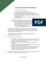 Programa Mínimo de los Estudiantes Colombianos