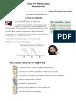Guía 4 Resolución de problema Adición_3° básicoA y B