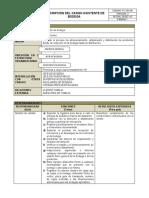 ANEXO 19. PC-GH-06 Asistente de Bodega