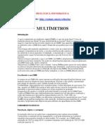 ELETR-030 - MULTÍMETROS
