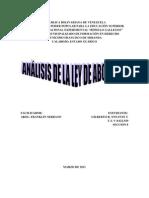 ANÁLISIS DE LA LEY DE ABOGADOS