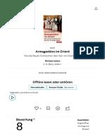Armageddon im Orient von Michael Lüders — Gratis-Zusammenfassung