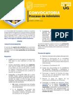 Proceso de admisión en licenciaturas enero-junio 2022 UGTO