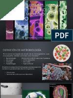 Sesion 2 - Generalidades, historia, ramas y terminología de la microbiologia