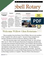 Rotary newsletter Mar 29 2011