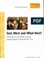 E.Olsson  E. Havryluyk-Narvselius  East, West and  What Next?