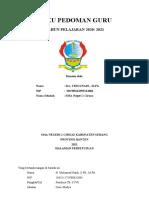 BUKU PEDOMAN GURU TAHUN PELAJARAN 2015-2016