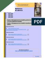 Annuaire diplômé(e)s M2 qualité IMPGT V.2009