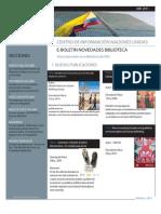 Boletin Novedades Bibliográficas CINU Bogotá