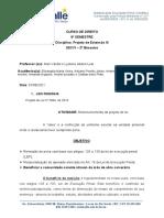 PROJETO DE EXTENSÃO III -