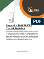 Guia de Instalacao Tp Link Tl Wa850re