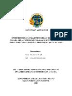 Rancangan Aktualisasi Siti Maesaroh