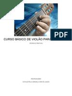 CURSO BÁSICO DE VIOLÃO PARA INICIANTES