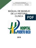 Gi-pgd-m-01 Manual de La Historia Clinica