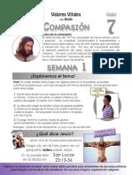 Basica Grado 6 Valor 7 Compasión parte 1 semana 1