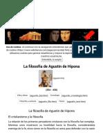 Filosofía de Agustín de Hipona