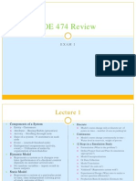 IOE 474 Exam review2