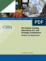 2008.08.21-Combat-Training-Operational-Art-Strategic-Competence