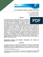 Relato de extensão - Desenvolvendo ações e construindo saberes - Rev. Ciênc. Ext. v.8, 2012.