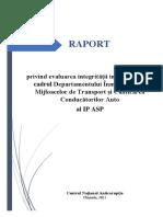 Raport de Evaluare DIMM CCA