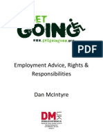 Employment Advice for People with Disabilities