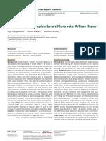 Case Study of ALS Successful Treatment