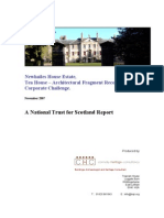 Newhailes House Estate, Tea House – Architectural Fragment Recovery