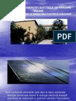 Producerea Energiei Electrice Cu Panouri Solare